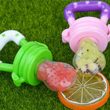 Pacifiers for Baby Silcone Baby Pacifier Fresh Food Feeder Dummy Fruits Nibbler Soother Feeding Nipple Bottle Clip Chain