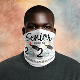 Senior Class Of 2020 The Year When Shit Got Real White Neck Gaiter