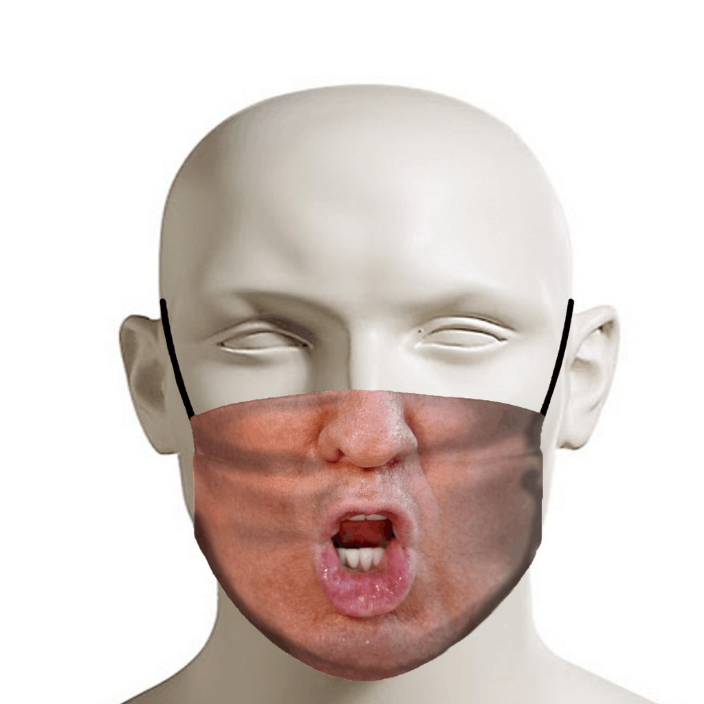 Trump Lips Reusable Washable Cloth Mask