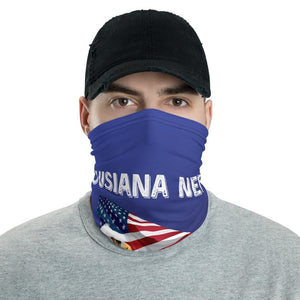 Louisiana Needs Trump 2020 American Flag With Eagle Neck Gaiter