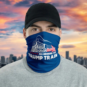 All Aboard The Trump Train Neck Gaiter