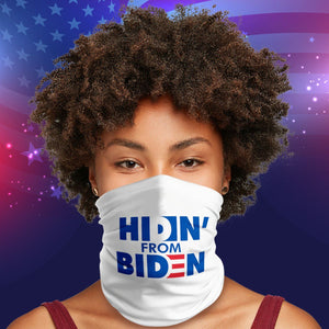 Hiding From Biden 2020 President Election Neck Gaiter