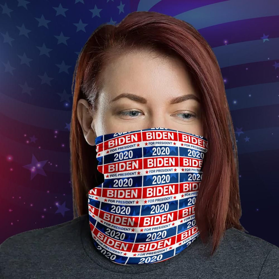Joe Biden 2020 Election Day Usa Pattern Neck Gaiter