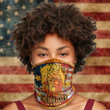 American King Trump 2020 Election Re-elect Neck Gaiter