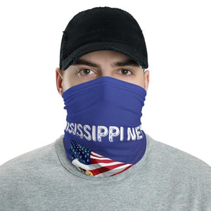 Mississippi Needs Trump 2020 American Flag With Eagle Neck Gaiter
