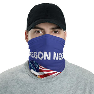 Oregon Needs Trump 2020 American Flag With Eagle Neck Gaiter