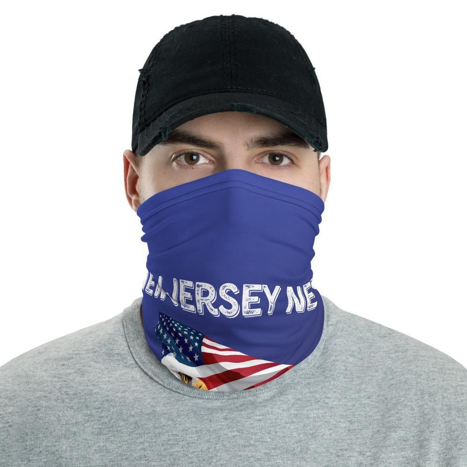 New Jersey Needs Trump 2020 American Flag With Eagle Neck Gaiter