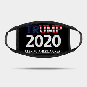Trump 2020 Keep America Great America Reusable Washable Cloth Mask