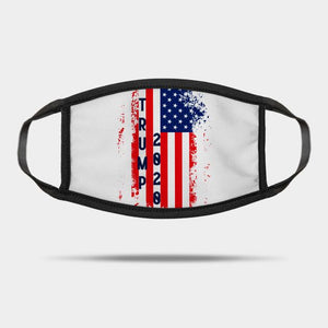 Trump 2020 Proud America Flag Reusable Washable Cloth Mask
