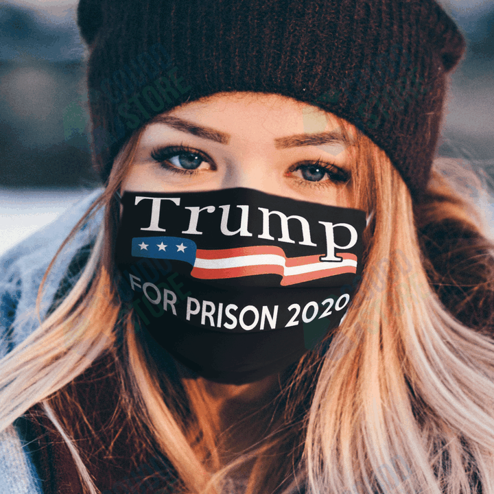 Trump For Prison 2020 Cloth Washable Cloth Mask