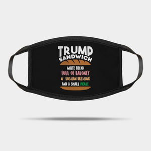 Trump Sandwich Mask Reusable Washable Cloth Mask