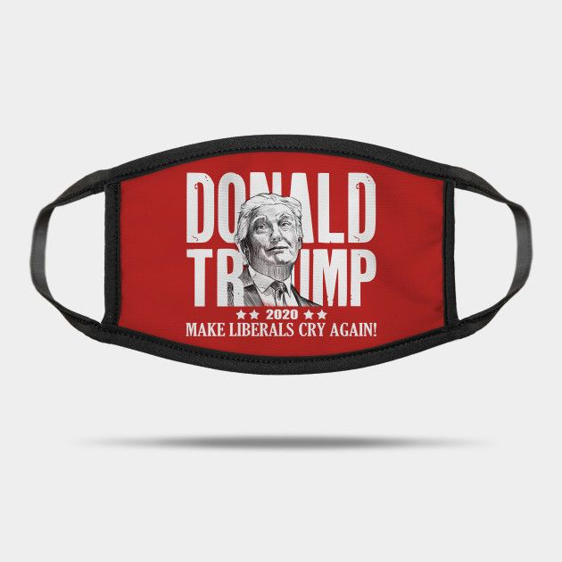 Trump Girl Shirt 2020 Women For Trump Reusable Washable Cloth Mask