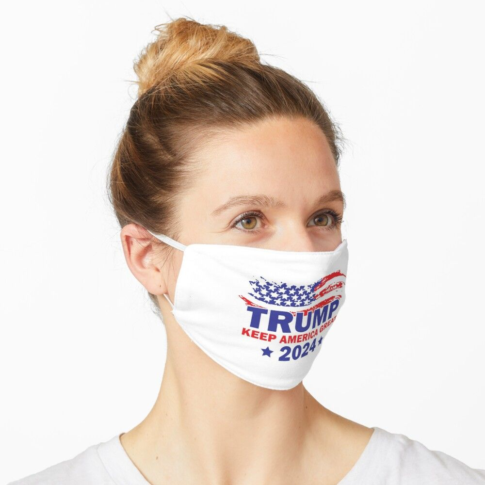 TRUMP 2024 Make America Great Again Washable Cloth Mask