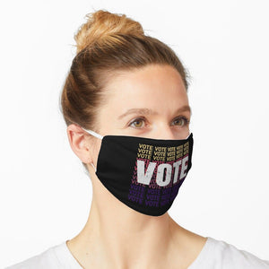 Your Vote Matters America Flag Washable Cloth Mask