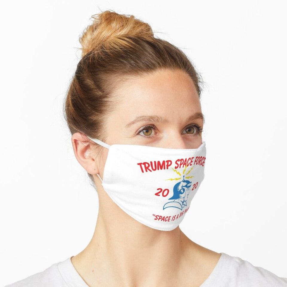 Trump Space Force 2020 Washable Cloth Mask