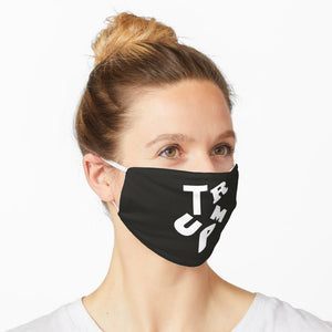 Trump Custom Black Background Washable Cloth Mask
