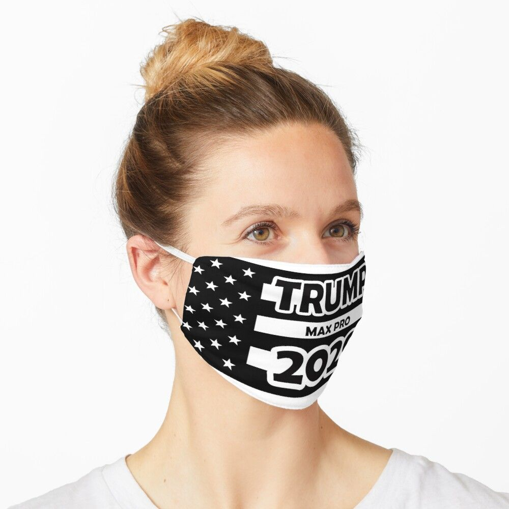 Trump Max Pro 2020 USA Flag Washable Cloth Mask