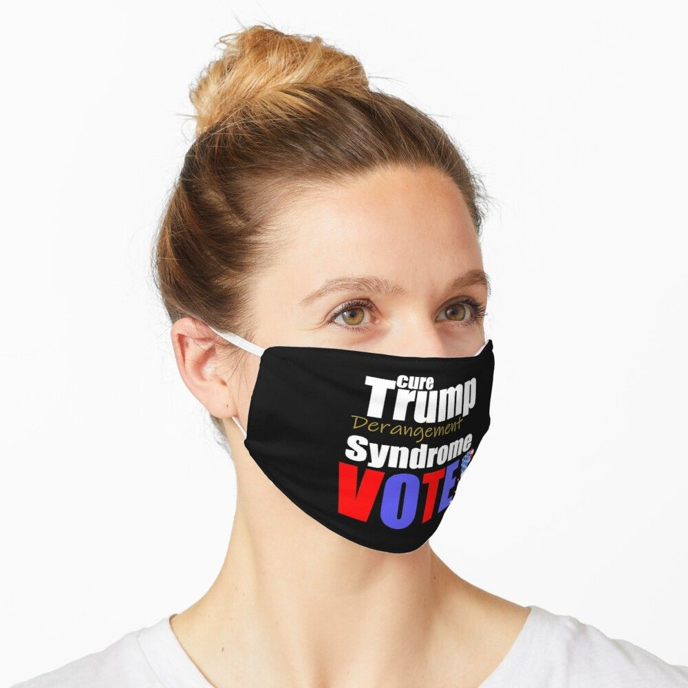Trump Syndrome Vote Washable Cloth Mask
