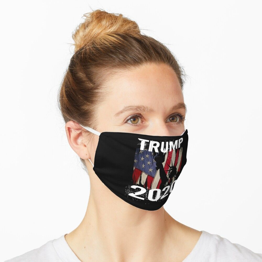 Trump 2020 Proud America Flag Washable Cloth Mask