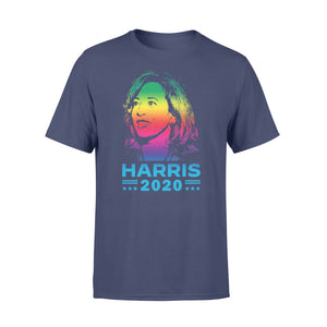 Kamala Harris Vice President 2020 LGBT Rainbow Cool Designs TShirt Plus Size Funny Tees Oversized T-shirt