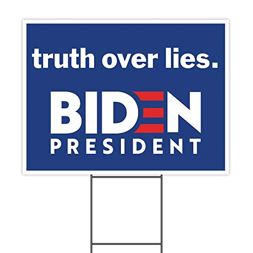 Truth Over Lies Joe Biden for President 2020 24