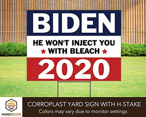 "Joe Biden 2020 President Political Election 24""x18"" Decorative Campaign House Garden Yard Signs 