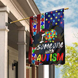 Love Autism Garden Flags | House Flags | Double Sided Decorative Yard Flag For Spring Summer Fall Winter