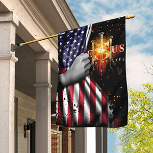 God Bless America Garden Flags | House Flags | Double Sided Decorative Yard Flag For Spring Summer Fall Winter