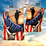 Proud Veteran Garden Flags | House Flags | Double Sided Decorative Yard Flag For Spring Summer Fall Winter
