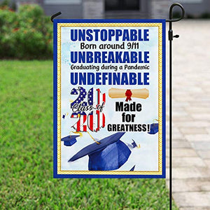 Class of 2020 Made for Greatness Garden Flags | House Flags | Double Sided Decorative Yard Flag For Spring Summer Fall Winter