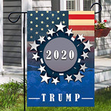 Donal Trump 2020 Keep America Great President 45 Garden Flags | House Flags | Double Sided Decorative Yard Flag For Spring Summer Fall Winter
