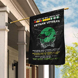 Proud Vietnam Veteran Garden Flags | House Flags | Double Sided Decorative Yard Flag For Spring Summer Fall Winter