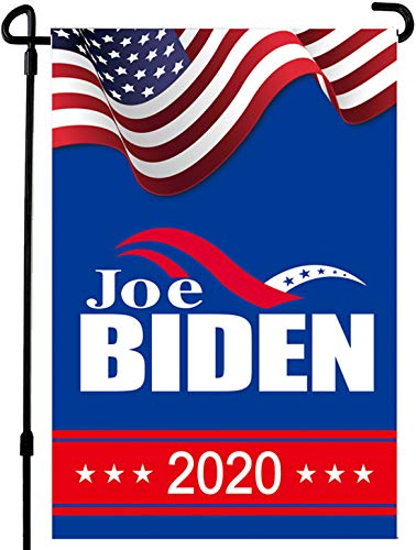 Joe Biden for President 2020 Campaign Garden Flags | House Flags | Double Sided Decorative Yard Flag For Spring Summer Fall Winter