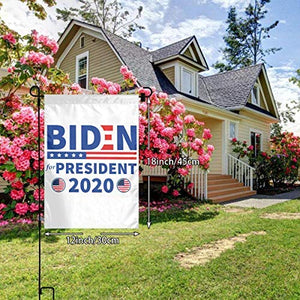 Joe Biden America President 2020 Campaign Garden Flags | House Flags | Double Sided Decorative Yard Flag For Spring Summer Fall Winter