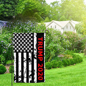 Donal Trump 2020 Keep America Great President 45 Vinatge Garden Flags | House Flags | Double Sided Decorative Yard Flag For Spring Summer Fall Winter