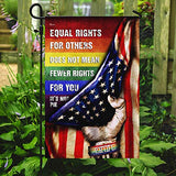 LGBT Pride Equal Rights Garden Flags | House Flags | Double Sided Decorative Yard Flag For Spring Summer Fall Winter