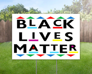 Black Lives Matter Decorative Campaign House Garden Yard Signs | Lawn Signage 6