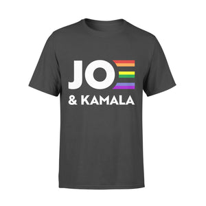 Joe Biden Kamala Harris President 2020 LGBT Rainbow Cool Designs TShirt Plus Size Funny Tees Oversized T-shirt
