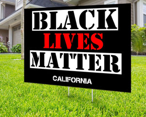 Black Lives Matter Yard Sign Decorative Campaign House Garden Yard Signs | Lawn Signage 17