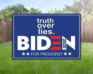 Biden For President 2020 Yard Sign Decorative Campaign House Garden Yard Signs | Lawn Signage 1