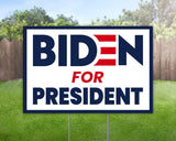 Biden for President Political Campaign Yard Sign Decorative Campaign House Garden Yard Signs | Lawn Signage