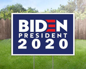 Joe Biden 2020 Campaign Yard Sign Decorative Campaign House Garden Yard Signs | Lawn Signage