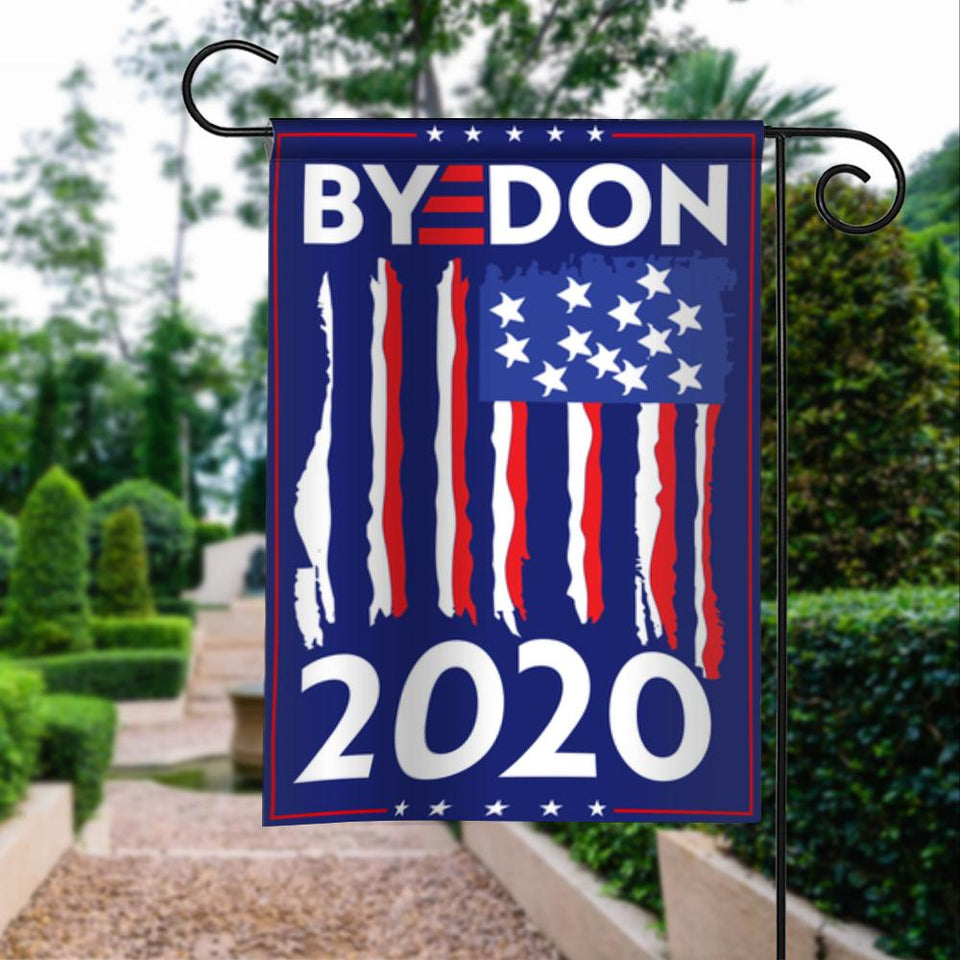Byedon Joe Biden America President 2020 Campaign Garden Flags | House Flags | Double Sided Decorative Yard Flag For Spring Summer Fall Winter