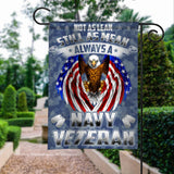 US Navy Veterans Eagle American Garden Flags | House Flags | Double Sided Decorative Yard Flag For Spring Summer Fall Winter