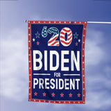 Joe Biden America President 2020 Campaign Garden Flags | House Flags | Double Sided Decorative Yard Flag Without Pole For Spring Summer Fall Winter