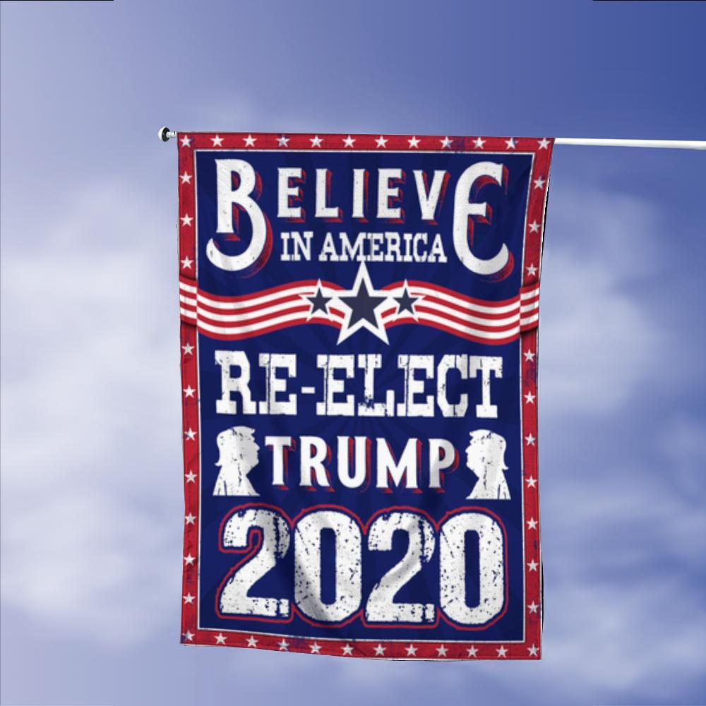 Donald Trump 2020 Keep America Great President 45 Vintage American Garden Flags | House Flags | Double Sided Decorative Yard Flag Without Pole For Spring Summer Fall Winter