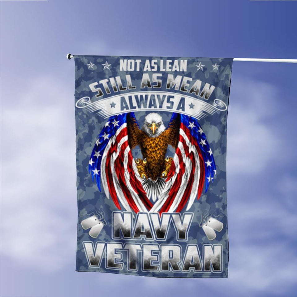 US Navy Veterans Eagle American Garden Flags | House Flags | Double Sided Decorative Yard Flag Without Pole For Spring Summer Fall Winter