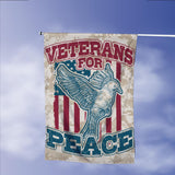 Veterans For Peace Garden Flags | House Flags | Double Sided Decorative Yard Flag Without Pole For Spring Summer Fall Winter