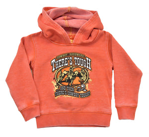Infant/Toddler Boy's There's Tough Acid Wash Orange Pullover from Cowboy Hardware