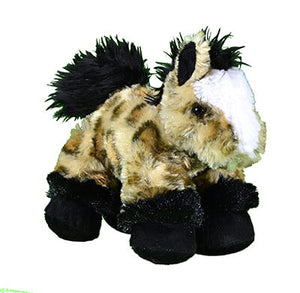 Girl's Plush Play Brown Leopard Horse from Cowgirl Hardware